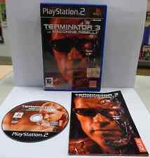 Game SONY Playstation 2 PS2 PSX2 PAL ITALIANO TERMINATOR 3 LE MACCHINE RIBELLI