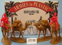 Armies in Plastic 5598 -Egypt & Sudan - British Camel Corps - 1882 - Set #3 kit