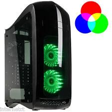 Kolink PUNITORE RGB MIDI TOWER CASE GAMING ATX NERO-ventole di Raffreddamento LED incluse