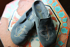 juicy couture 8.5 suede clogs
