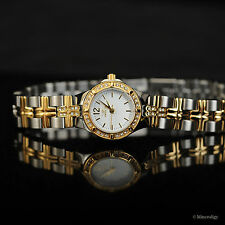 Invicta Women's 18k Gold Plated Wildflower $995 White Dial Crystal Ladies Watch