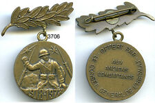 3706 - MEDAILLE ANCIENS COMBATTANTS 1918