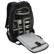 Photographers DSLR Camera Travel Backpack Rucksack Bag Case For Canon Sony Nikon