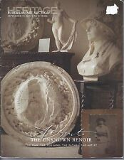 HERITAGE THE UNKNOWN RENOIR Personal Artifacts Collection Auction Catalog 2013