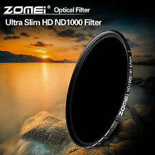 Zomei 77mm Slim HD ND1000,Multi-Coated,Optical Glass Fitler For DSLR Camera Lens