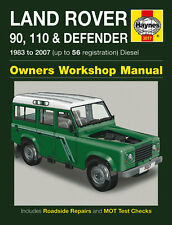 Haynes Workshop Repair Manual Land Rover Defender 83 07