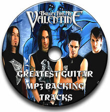 30 BULLET FOR MY VALENTINE STYLE HEAVY METAL ROCK GUITAR MP3 BACKING TRACKS CD