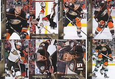 2015-16 Upper Deck Anaheim Ducks Complete Series 1 & 2 Team Set 14 Cards