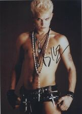 "NEW Billy Idol Autograph Signed Photo Reprint 8x10"" Picture Print Photograph"