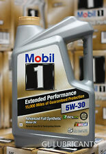 4 x Mobil 1 EP 5W-30 Motor Oil - 5 Quart 4.73 Liter SYDNEY METRO ONLY