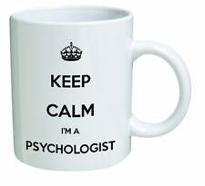 Keep Calm I'm A Psychologist Text Name Colours Birthday Gift Coffee Tea Mug Cup