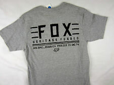 Fox Racing Co. Moto-X FMX regular fit men's T-shirt gray size LARGE
