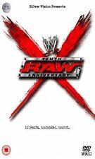 WWE 10th Raw Anniversary 2003 Die ersten zehn Jahre Orig DVD WWF Wrestling