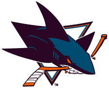 San Jose Sharks NHL Color Die-Cut Decal / Car Sticker *Free Shipping