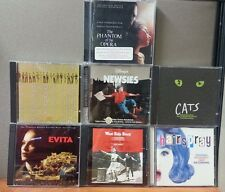 7 Musical Soundtrack CD's    All LIKE NEW   See Description for titles