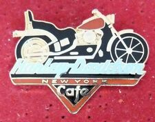 RARE BIG PIN'S MOTO HARLEY DAVIDSON NEW YORK CAFE EGF