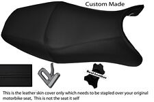 BLACK STITCH CUSTOM FITS HONDA CBR 1100 XX SUPER BLACKBIRD 96-07 LTHR SEAT COVER