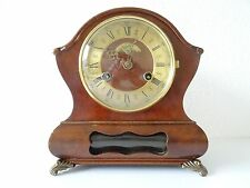 Warmink Wuba Dutch Vintage Mantel Shelf Bracket 8 day Clock (Junghans Hermle era