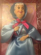 "RARE NEW NRFB Disney Store Exclusive Cinderella 12"" CLASSIC FAIRY GODMOTHER Doll"
