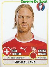 107 MICHAEL LANG SWITZERLAND FC.BASEL STICKER EURO 2016 PANINI