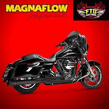 MagnaFlow Black Performer 2 into 1 exhaust  2007-2016 Harley Touring