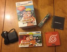 BOXED NINTENDO GAME BOY Advance SP NARUTO Limited Edition Japan RARE (US Seller)