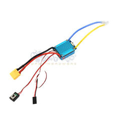Waterproof Brushed ESC 160A 3S with 5V 1A BEC XT60 Plug For 1/12 RC Car