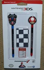 NINTENDO DS LITE DSi 3DS XL OFFICIAL MARIO KART STYLUS PEN PACK BRAND NEW Super