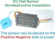 DC Meter With Current Transformer Bidirectional Current ± 100A Voltage 0-100V