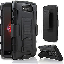 Hybrid Armor Impact Hard Case Cover Holster For Motorola Droid Ultra/Maxx XT1080