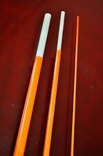 "Bloke XLSG Fibreglass fly rod blank 6' 6"" 3-piece 3wt. Hot 0range"