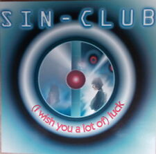 """12"""" Maxi  Sin-Club – (I Wish You A Lot Of) Luck ,MINT- Top, Dance Pool"""