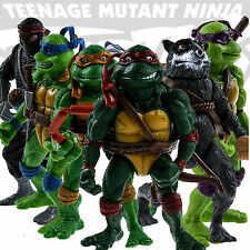 6pcs/lot Teenage Mutant Ninja Turtles Action Figures Classic Collection Toy Set