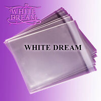50 C5 Cello Bags for Greeting Cards / Clear Cellophane