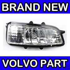 VOLVO S40, V50 (07-12) MIRROR REPEATER INDICATOR LENS / LAMP / LIGHT (RIGHT)