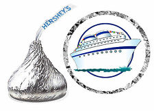 216 CRUISE SHIP BIRTHDAY PARTY FAVORS HERSHEY KISS LABELS