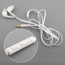 Wired White Handsfree Headset Headphones Earphones For Samsung S4 I9500*
