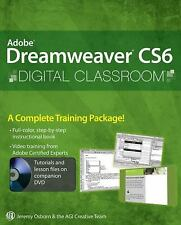 Adobe Dreamweaver CS6 Digital Classroom by Jeremy Osborn