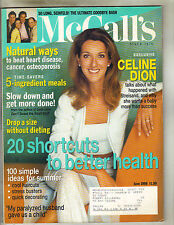 CELINE DION McCall's Magazine 6/98 SO LONG SEINFELD