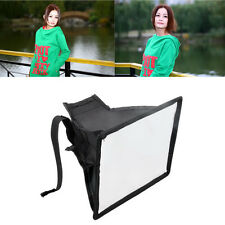 15*17cm Universal Portable Softbox Soft Box Diffuser for Flash Light Speedlite