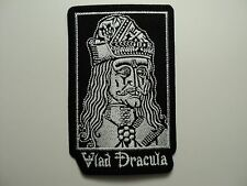 VLAD DRACULA EMBROIDERED PATCH