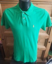 "Ralph Lauren Polo Shirt Green Small man 14/16 yrs 36"" chest"