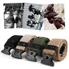 Adjustable Survival Men Army Military Heavy Duty Combat Waistband Tactical Belts