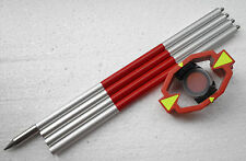 New mini Prism with 4 Poles For Leica Total Stations prism constant 0/-30mm