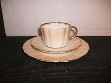 art nouveau royal doulton trio (cup saucer & side plate pattern c1426)