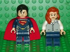 LEGO Marvel Super Heroes - Super Man & Lois Lane - Minifig / Mini Figure