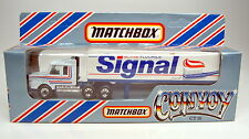 "Matchbox Convoy CY16A Scania Box Truck ""Signal"" top in Box"