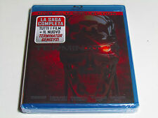 THE TERMINATOR COMPLETE COLLECTION Blu-Ray Boxset ALL 5 MOVIES BRAND NEW Import
