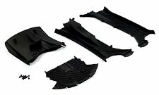 TRAXXAS XO-1 1/7 Plastic Chassis left & right air flow vents splitter & diffuser