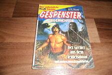 GESPENSTER GESCHICHTEN Taschenbuch  # 35 -- GREIFER aus dem TEUFELSMOOR // 1986